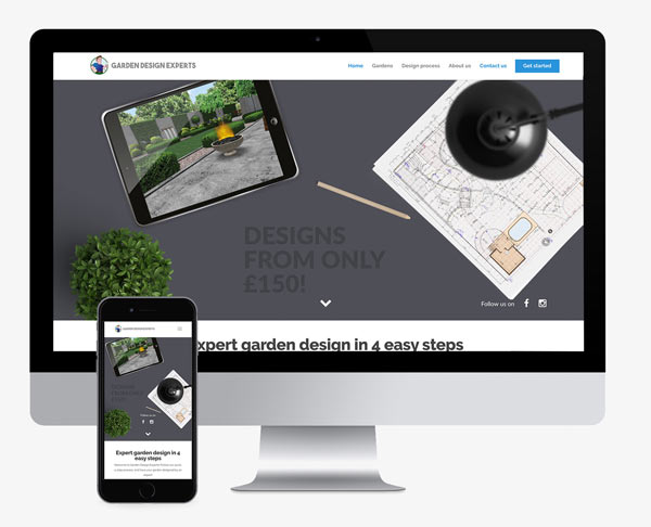 Garden Experts Web design