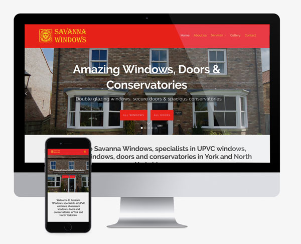 Savanna Windows website