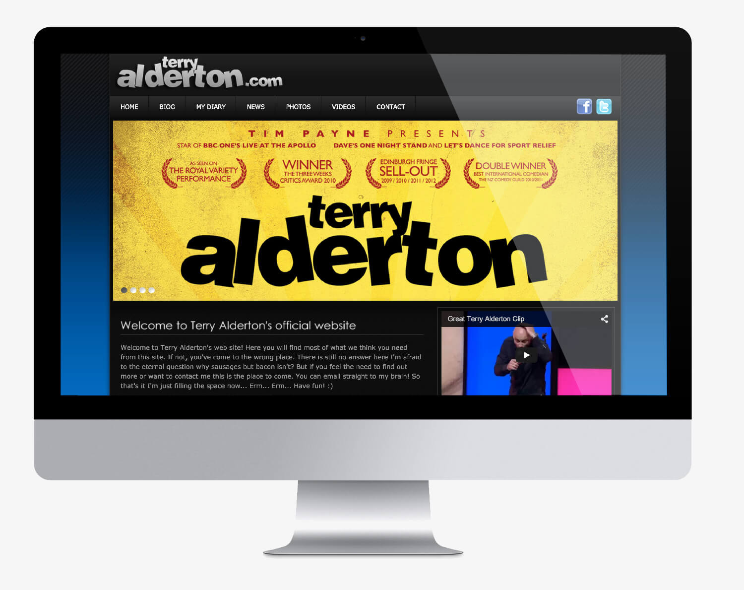 Terry Alderton Website