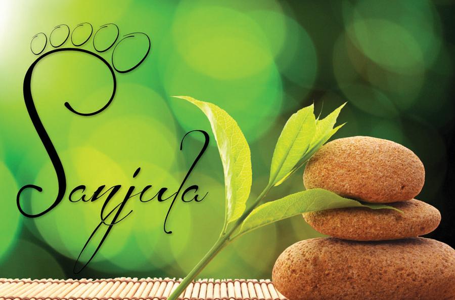 Sanjula logo design