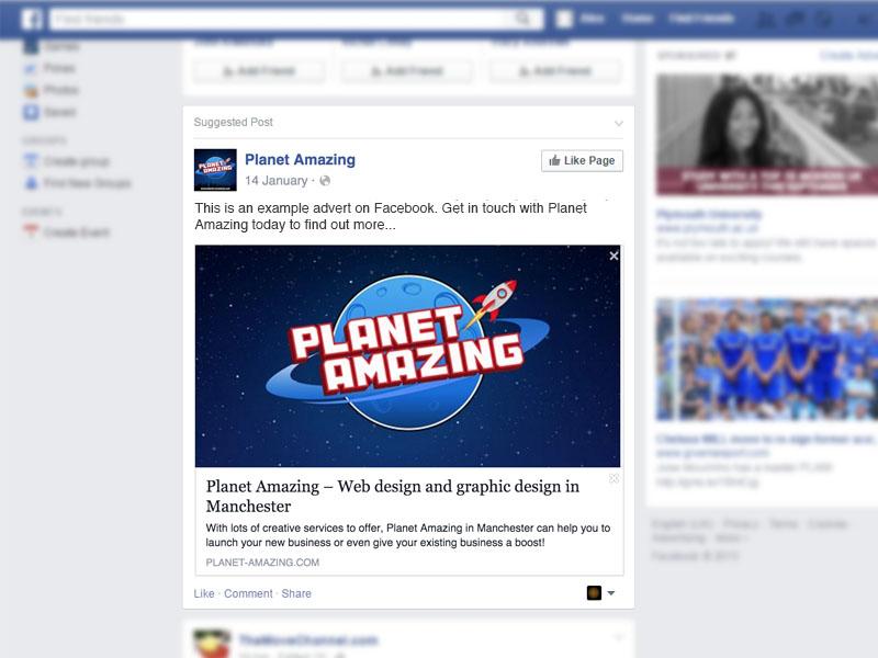 Facebook Advertising digital marketing manchester
